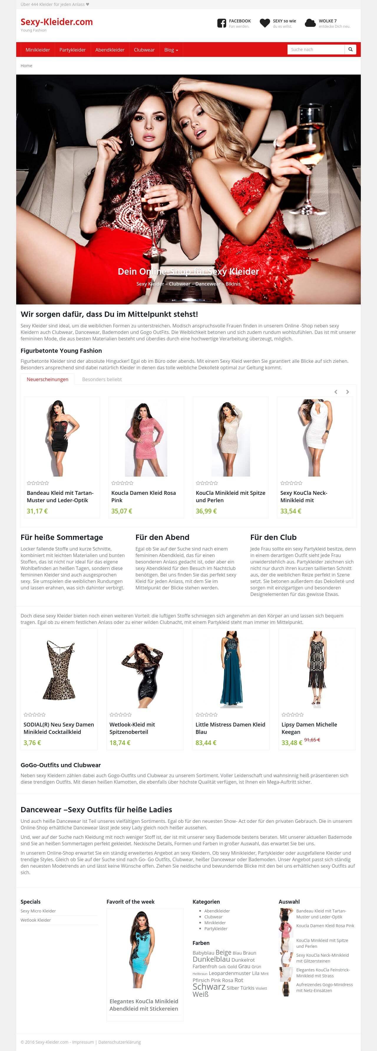 Über 1.000 kleider online bestellen - lockenmaschine